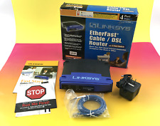 Linksys Befsr41 EtherFast Cable/Dsl Router with 4-Port Switch #U9344