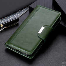 Stand Flip Wallet Card Slot PU Leather Cover Case For MOTO One Hyper / G Stylus