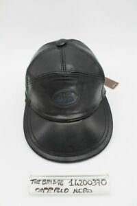 Cappello Polo - Pelle - Nero - Cod.14200370 - The Bridge