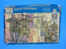 ITALERI GERMAN PARATROOPS  WORLD WAR II 1:72 SCALE MODEL SOLDIERS WW2