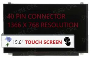 """B156XTK01.0 for HP TouchSmart 15-AC 15-AC121DX 15.6"""" LCD LED SCREEN TOUCH NEW"""