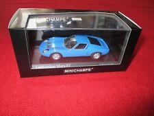 MINICHAMPS® 400 103650 1:43 Lamborghini Miura SV 1971 blau NEU OVP
