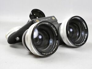 Steinheil Munchen Stereo-Redufocus 25mm Wide Angle Lens for Stereo Realist