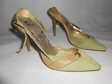 New Just Cavalli green suede shoes UK6,5,  EU40 RRP £265