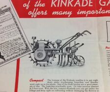 Vintage Kincade Garden Tractor American Farm Machinery Co. Minn. MN Brochure/Ad