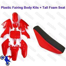 Carénage Body Kits + hauts de siège en Mousse Pour Honda CRF50 XR50 Pit Dirt Bike 50cc-160cc