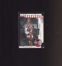 1996-97 UD3 The Winning Edge W11 Juwan Howard Washington Bullets