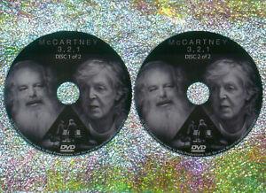 McCARTNEY 3, 2, 1  2 DVD Set (2021 Documentary Series) Paul Beatles Wings 3,2,1