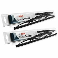 """Set of 2 Front - 24"""" & 24"""" BOSCH Direct-Connect Wiper Blades Many Applications"""