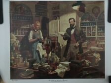 Lithograph By Dean Cornwell - The Father Of American Pharmacy, Never Displayed