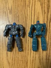 Vintage Rock Lords 1985 Bandai Tonka GoBots! Powerful Living Rocks! (Lot Of 2)