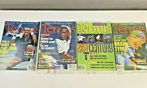 New Lot Of 3 Old Vintage 1994 TENNIS Magazines Venus Williams Patrick Rafter