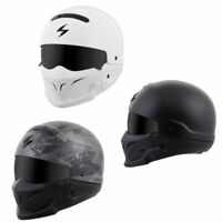 *Ships Same Day* Scorpion Covert Motorcycle Helmet 3 in 1 (All Colors)