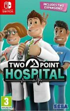 Two Point Hospital (Switch)  BRAND NEW AND SEALED - IN STOCK - QUICK DISPATCH