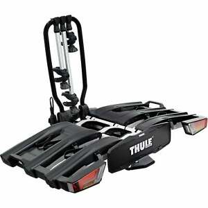 TH934300 Thule 934 EasyFold XT 3-Bike Towball Carrier With AcuTight Torque Knobs