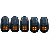 99-02 DODGE RAM DUALLY ANZO SMOKED LED CAB LIGHTS.