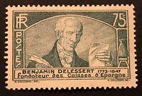 France 1935 Benjamin Delessert MH