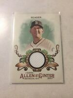 2017 Topps Allen&Ginter KYLE SEAGER Relic Jersey Patch #FSRB-KS Mariners