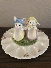 Easter Egg Ceramic Egg Tray Set