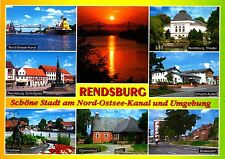 Rendsburg , Ansichtskarte, gelaufen