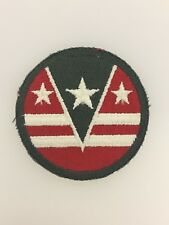 GENUINE America/American U.S. Army WWII 124th Army Reserve Command sleeve patch