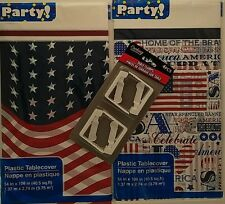 PATRIOTIC PICNIC TABLE COVERS & CLAMPS, SELECT: Cover &/or Clamps