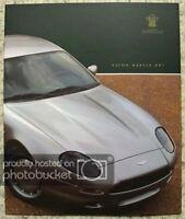ASTON MARTIN DB7 Car Sales Brochure 1995