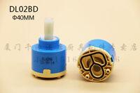 1PC DL02BD Hain-Yo idling mixing faucet flat foot ceramic valve core 40MM