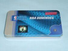 Boston Celtics  MLB TEAM DOMINOES Double Six Domino Set   NEW in GIFT TIN BOX