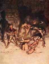 A4 Foto los cuentos de hadas de los hermanos Grimm 1909 11 impreso Poster