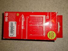 Chargeur de batterie Canon KIT CR-560 Adaptateur allume-cigare *NEUF*