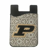 Purdue Boilermakers Cell Phone Card Holder or Wallet