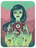 Bloom STICKER Decal Artist Tara Mcpherson TM59