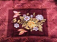 Original Solaron Korean Blanket throw Thick Mink Plush queen Butterfly Flowers