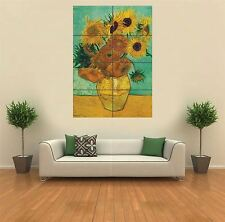 SUNFLOWERS - VAN GOGH NEW GIANT POSTER WALL ART PRINT PICTURE G396