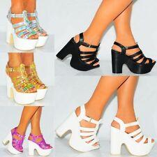 Unbranded Court Block Heel Shoes for Women