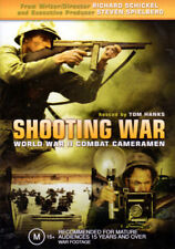 Shooting War World War II Combat Cameramen - Hosted by Tom Hanks - DVD