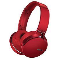 Sony Extra Bass Bluetooth Headphones Red MDRXB950BT/R  MDR-XB950BT