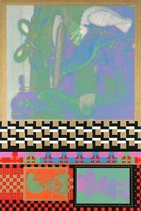 Eduardo Paolozzi Limited Edition Screenprint 'Untitled' Moonstrips 1967
