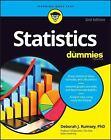 Statistics for Dummies by Deborah J. Rumsey (2016, Paperback)