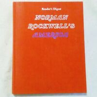 Norman Rockwell's America Hardcover Book Readers Digest
