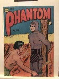 Frew publications - The phantom  159 Vintage 1960  phantom comic 100s