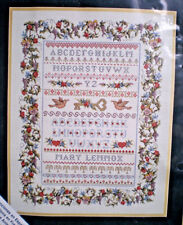 "Elsa Williams / Michael LeClair ""Secret Garden Sampler"" Counted Cross Stitch Kit"