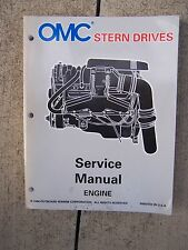 "1997 OMC Stern Drive ""LK"" Engine Service Manual MORE BOAT ITEMS IN STORE U"