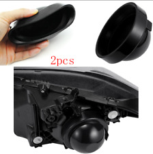 Pair Rubber Seal Cap Dust Cover For Install HID LED Car Headlight Kit Retrofit