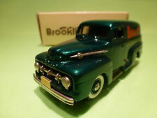 BROOKLIN MODELS BRK 42x FORD F1 PANEL DELIVERY 1952 - MODELEX 1992 - 1:43 - NMIB