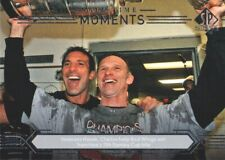2014-15 SP Authentic Hockey #197 Dominik Hasek/Chris Chelios All-Time Moments
