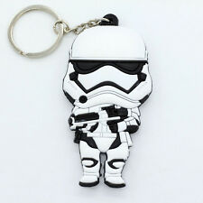 New Star Wars Rubber Keyring Keychain  Double Sides