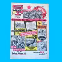 S und T 2/1988 | Eisleben Rathenow | DDR-Zeitschrift GST NVA Sport Technik V