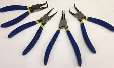 "7"" Circlip plier set, Internal / External circlip pliers, snap ring tool  set"